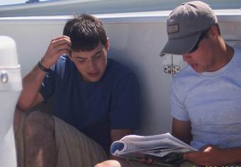 studying for the boating safety exam